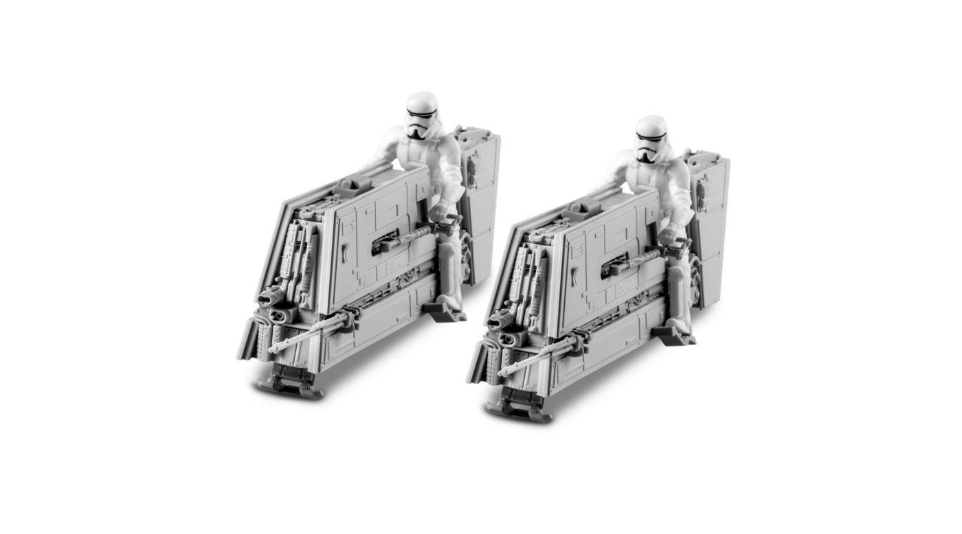 Snap Tite Plastic Model Kit-Imperial Patrol Speeder 1:28