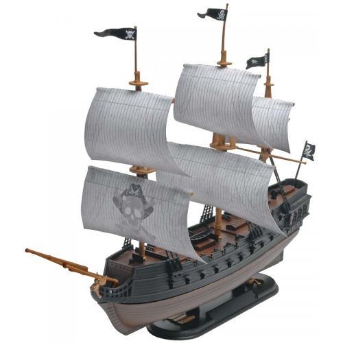 SnapTite Plastic Model Kit-Black Diamond Pirate Ship 1:350