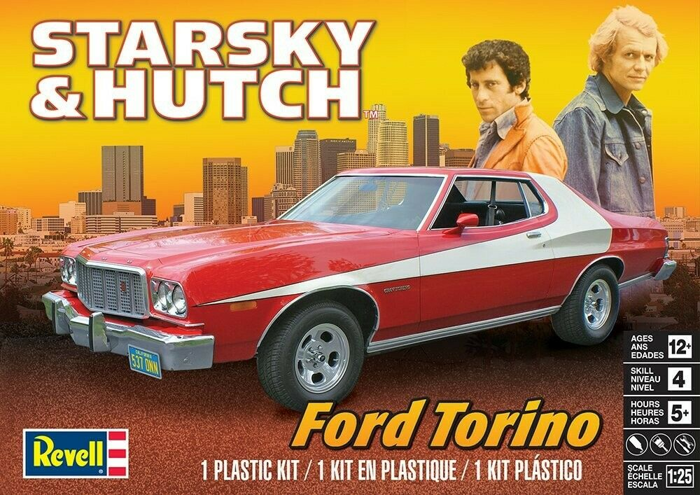 854023 1/25 Starsky & Hutch Ford Torino
