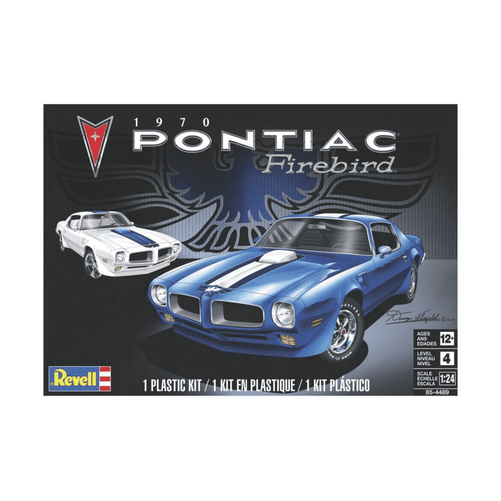 Plastic Model Kit-70 Pontiac Firebird