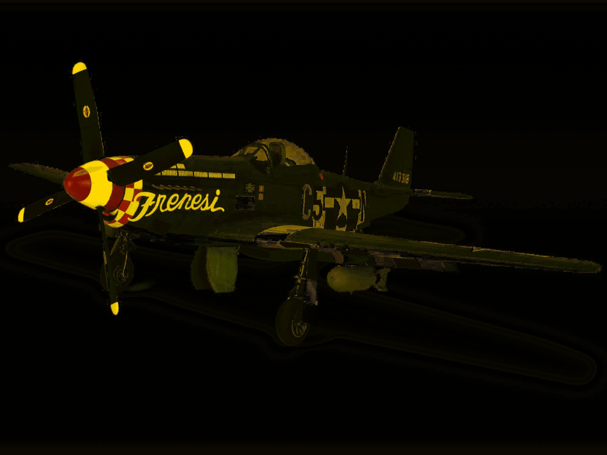 Plastic Model Kit-P-51D-NA Mustang 1:32