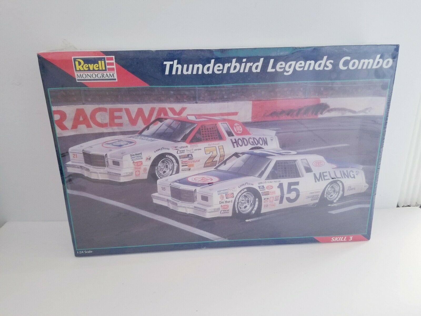 Revell Monogram Thunderbird Legends Combo 1/24 Scale Model Sealed Box 85-6857