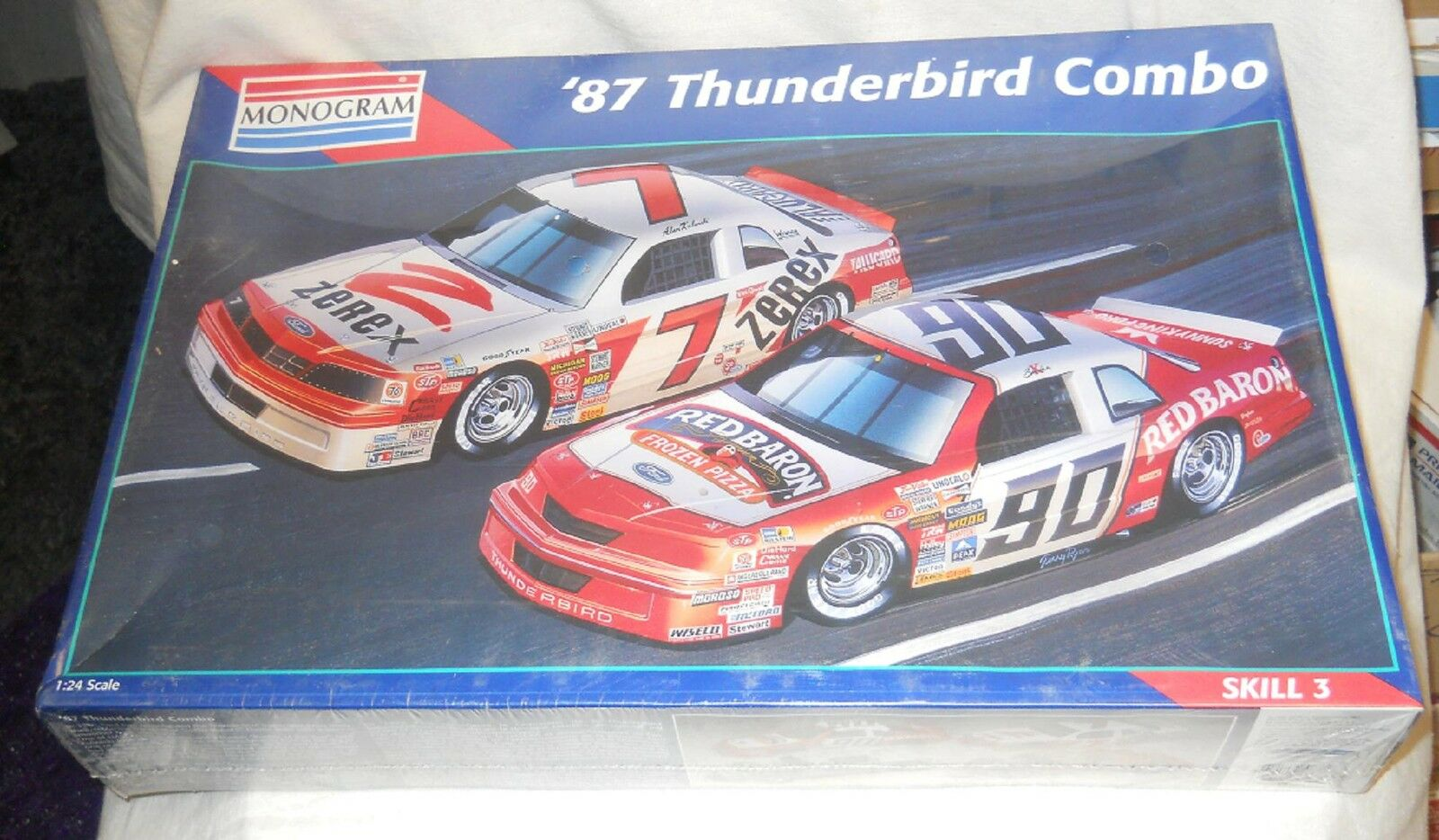 1/24 scale: Monogram: 1987 Thunderbird Combo, kit# 6392