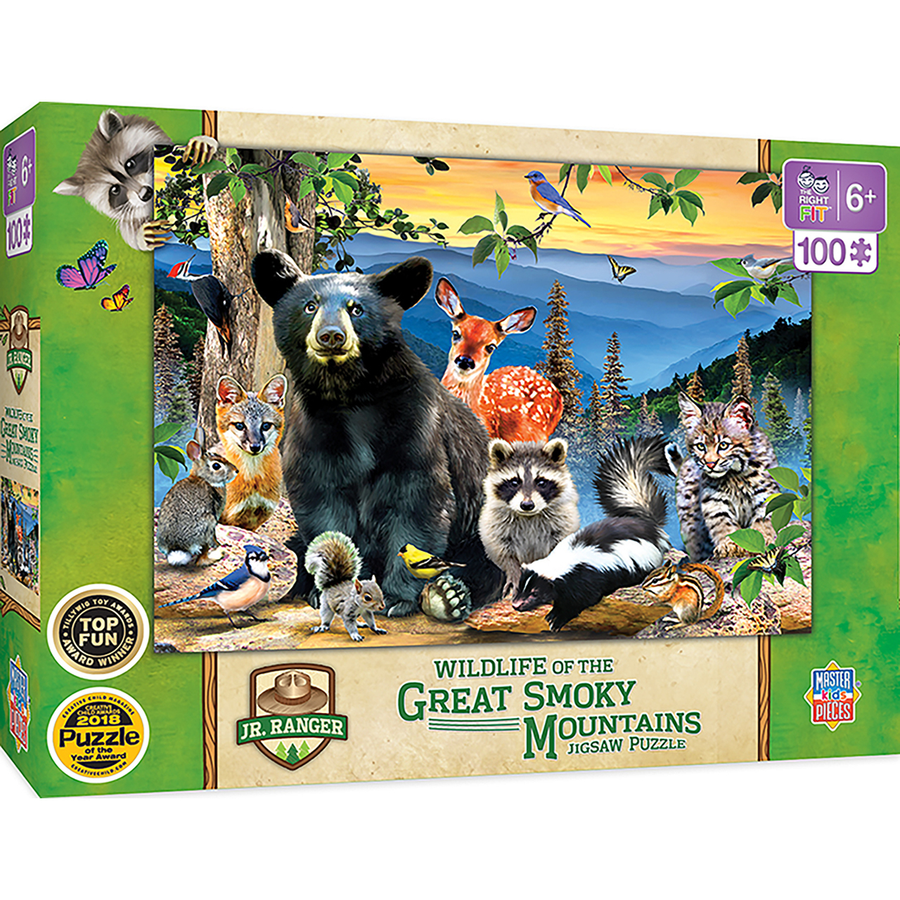 Jr Ranger - Great Smoky Mountains National Park 100pc Puzzle