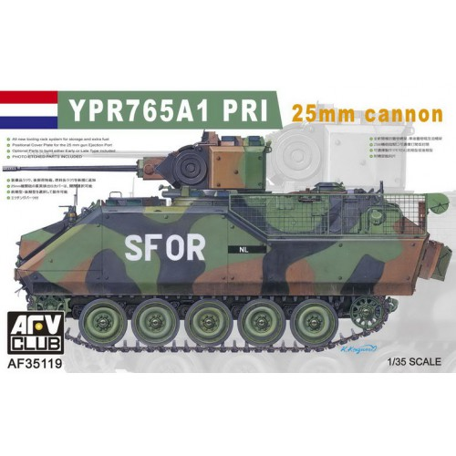 YPR765A1 SFOR 25MM CANNON