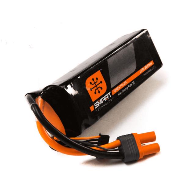 2200mAh 3S 11.1V Smart LiPo 30C; IC3