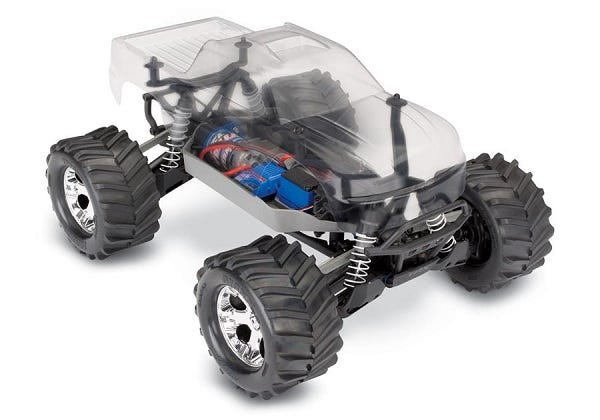 Stampede 4X4 Assembly Kit: 1/10 Scale 4WD Chassis. Ready-To-Race with TQ 2.4GHz radio system and XL-5 ESC (fwd/rev).