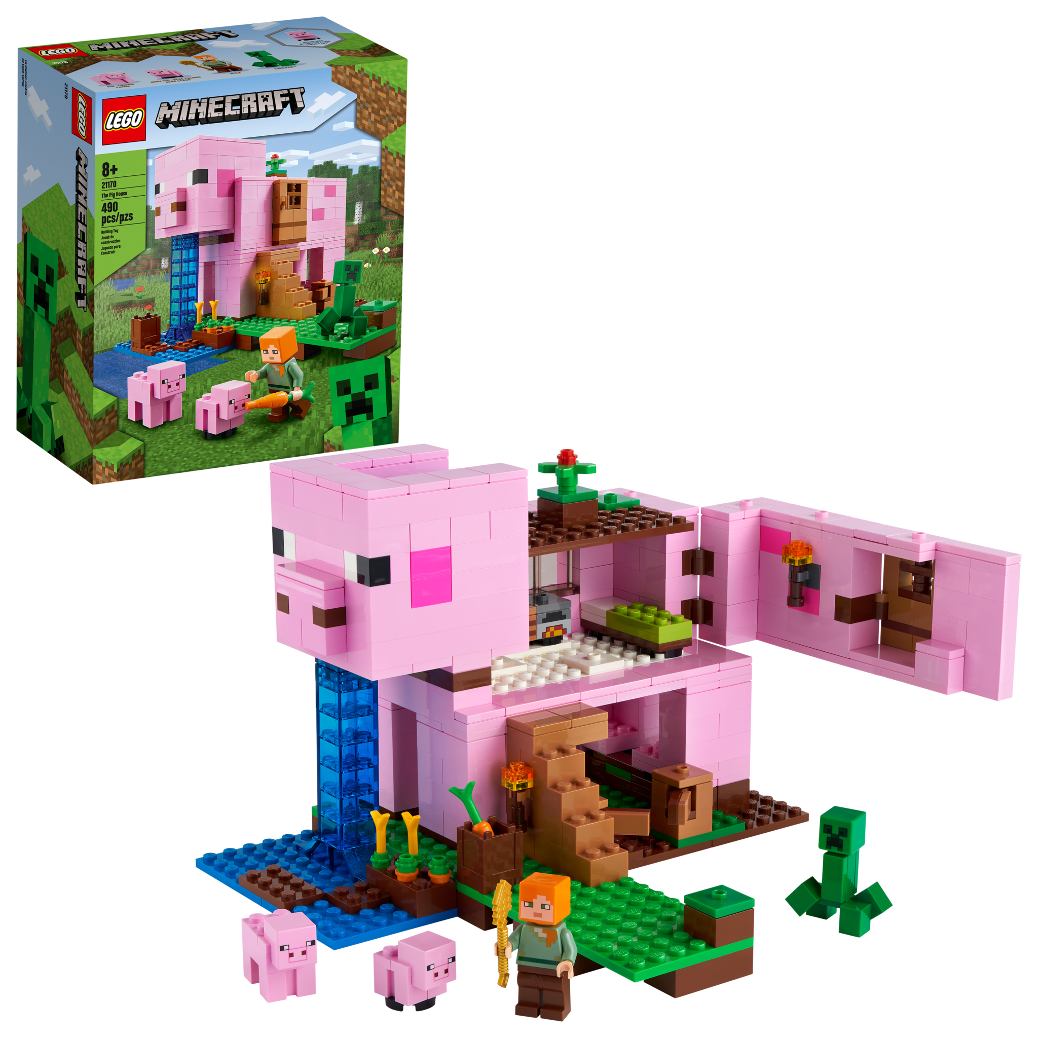 Minecraft:  The Pig House