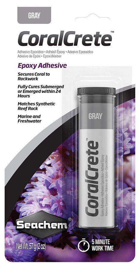 Seachem CoralCrete Gray Epoxy Adhesive