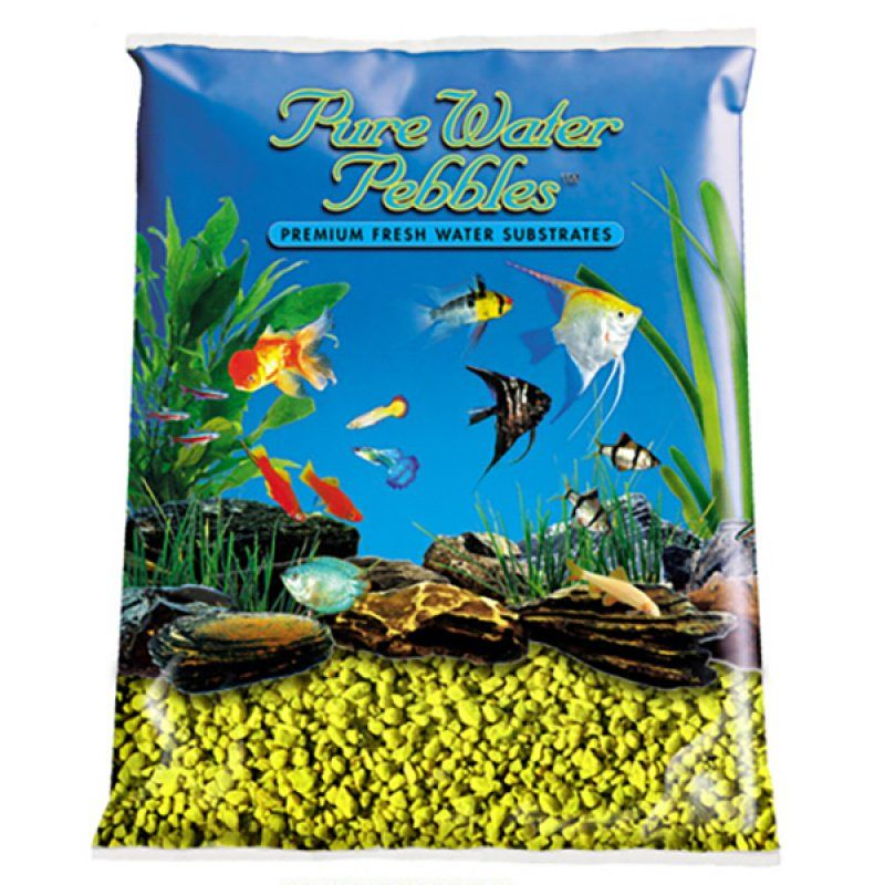 Pure Water Pebbles Aquarium Gravel - Daffodil