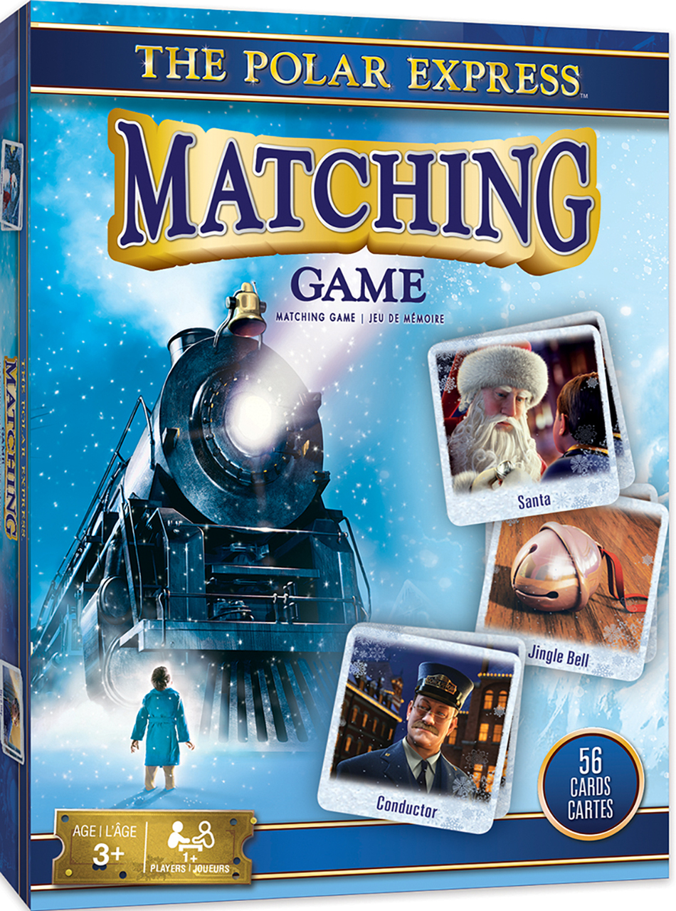 THE POLAR EXPRESS MATCHING CARD GAME