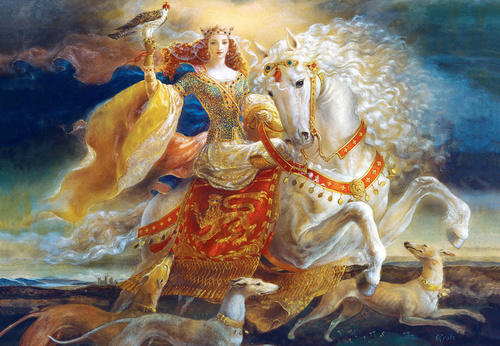 Signature: Eleanor of Aquitaine - 2000pc Jigsaw Puzzle by Masterpieces