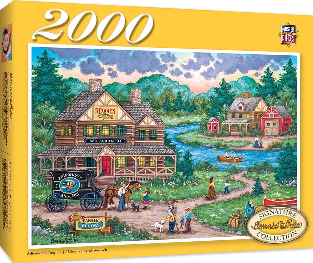Signature - Adirondack Anglers 2000pc Puzzle