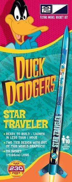 MPC Duck Dodgers Star Traveler Model Rocket Kit