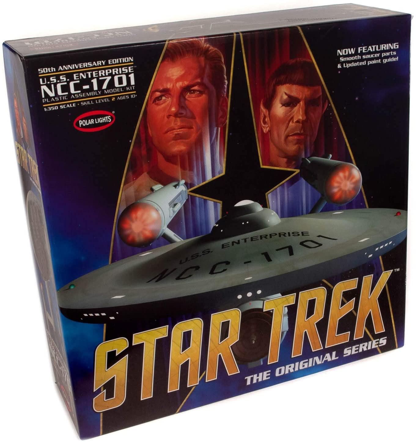 1/350 Star Trek TOS Enterprise, 50th Anniversary