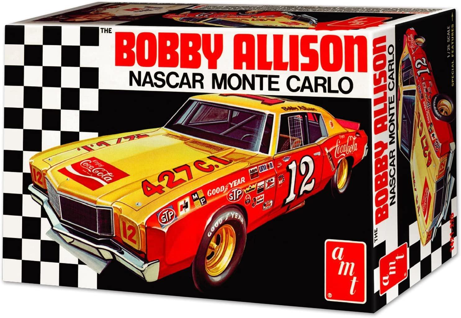 AMT1064/12 1/25 Coca Cola Bobby Allison 1972 Monte Carl