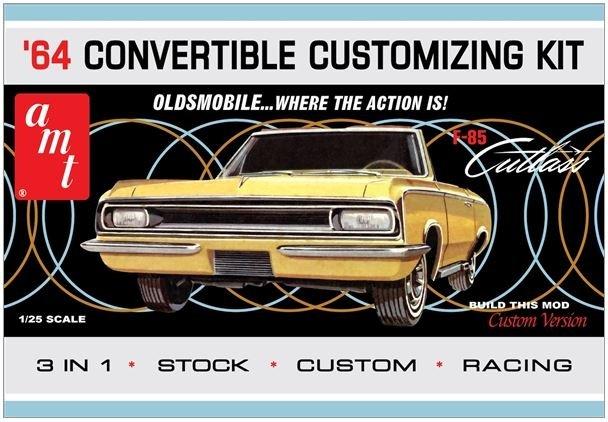 1/25 1964 Olds Cutlass F-85 Convertible