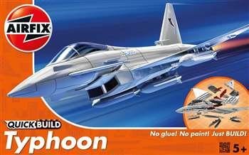 Airfix Misc Eurofighter Typhoon QuickBuild - AXJ6002