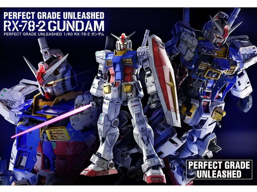 Bandai : RX-78-2 Gundam Mobile Suit Gundam PG Unleashed 1/60 BAN2530615