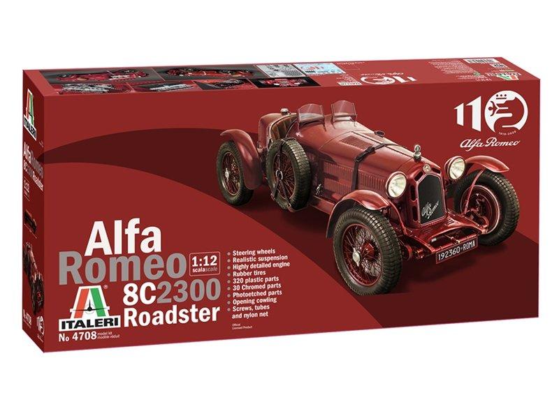 ITALERI Alfa Romeo 8C 2300 Roadster 1:12
