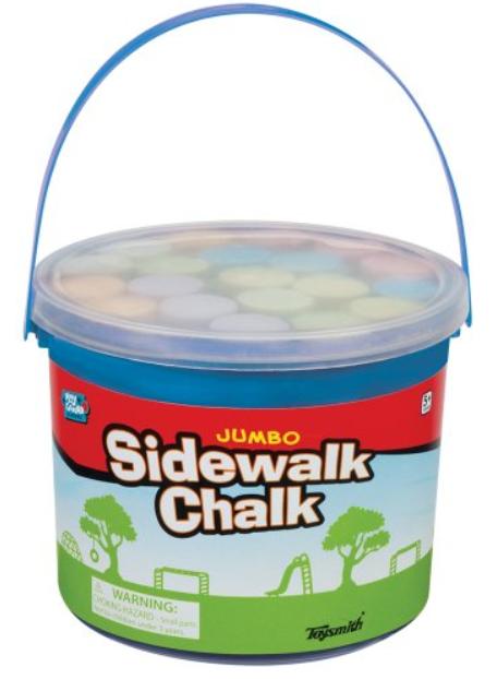 Jumbo Sidewalk Chalk