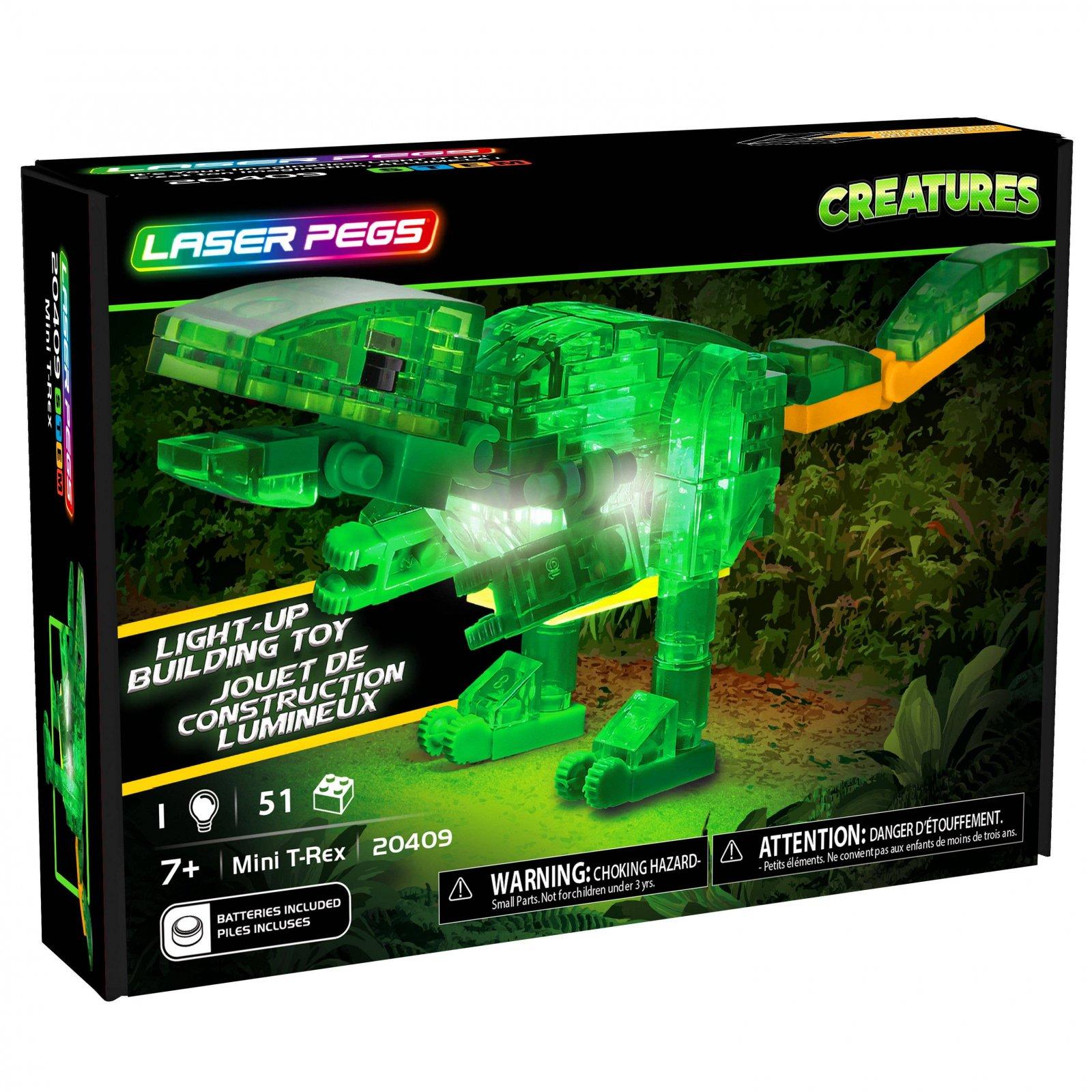 Mini T-Rex - Laser Pegs