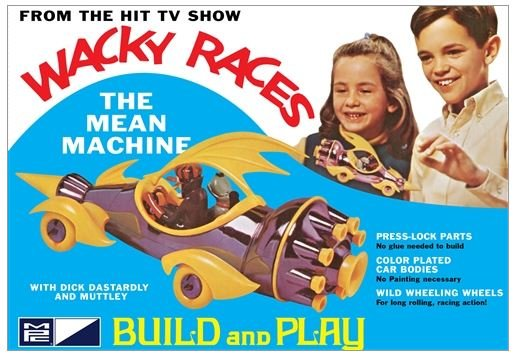 MPC Wacky Races - Mean Machine (SNAP) 1:32 Scale Model Kit