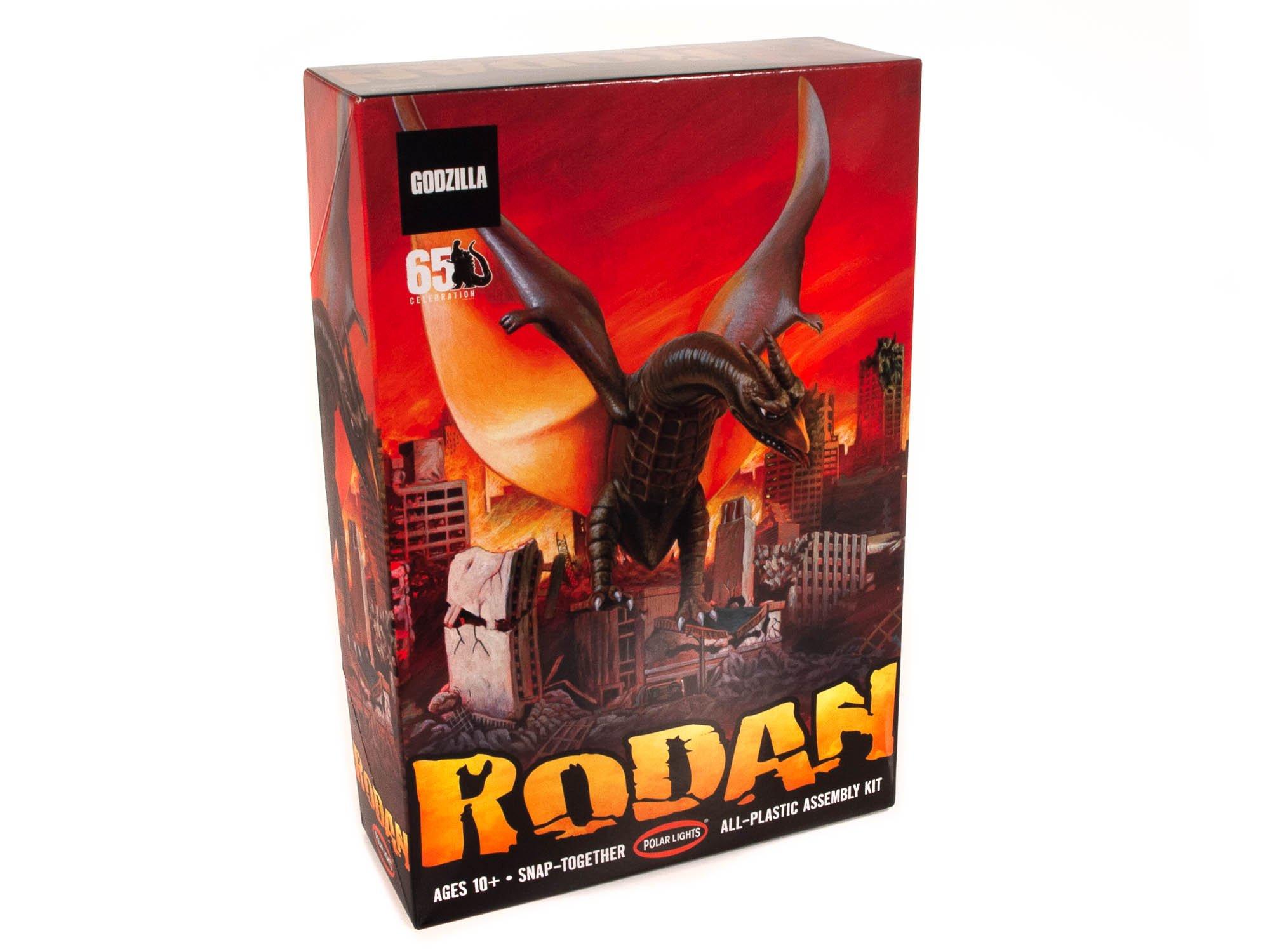 POLAR LIGHTS RODAN (SNAP) 1:800 SCALE MODEL KIT
