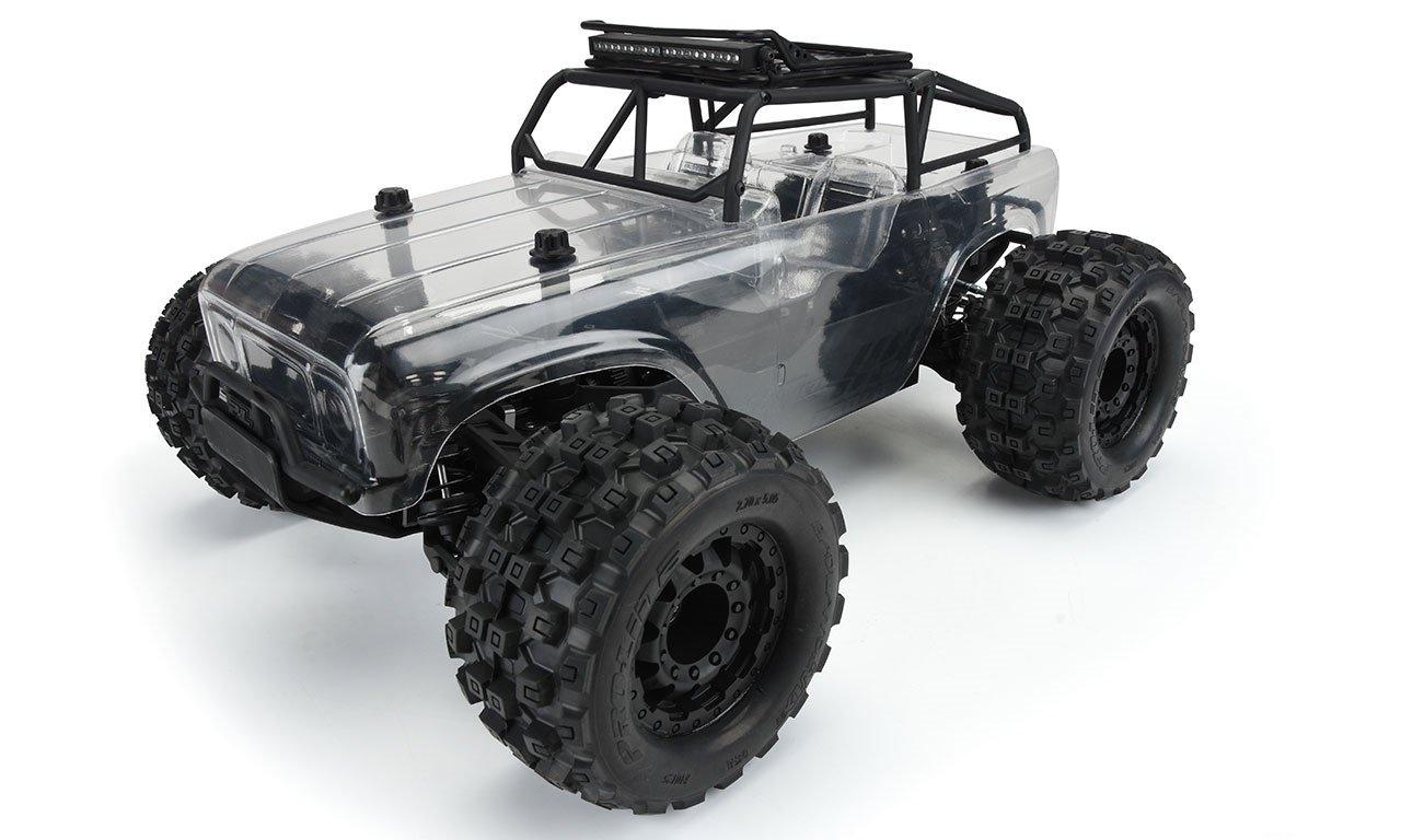 Ambush-MT Monster Truck 4x4 w/ Trail Cage, Pre-Built Roller, 1/10 Scale