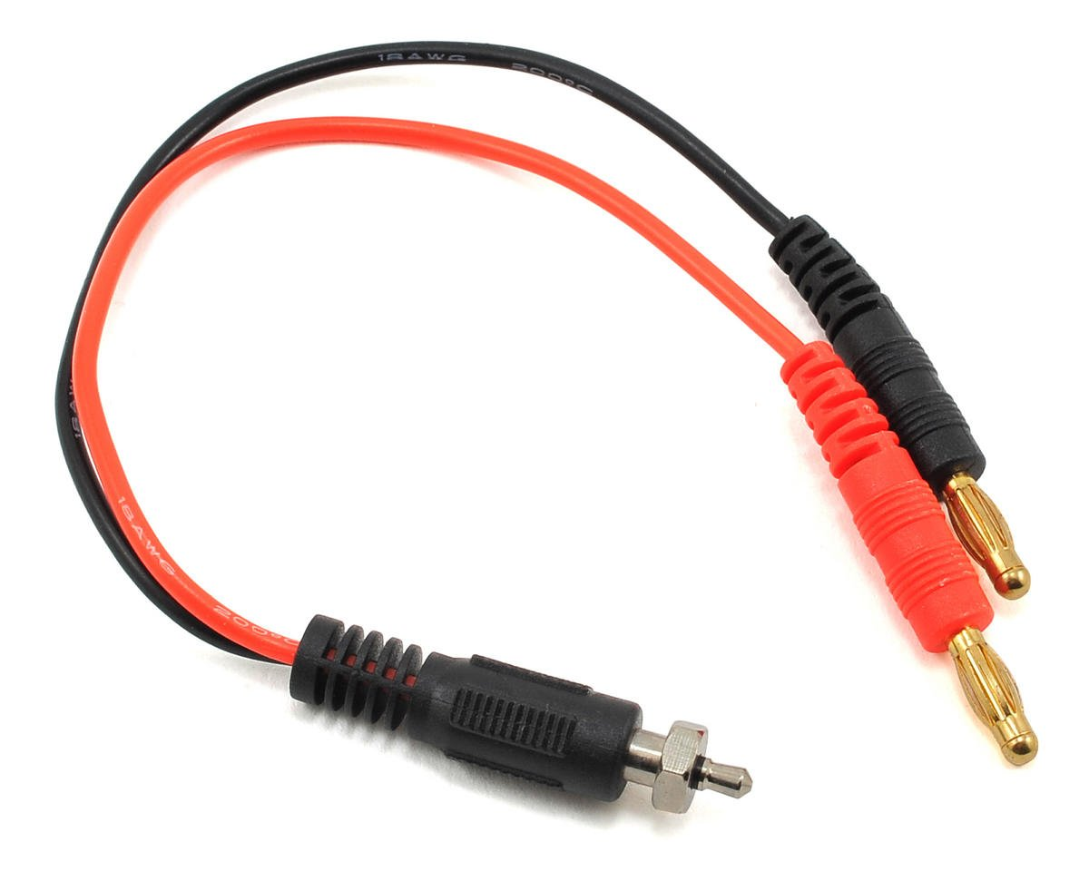 Glow Ignitor Charge Lead (Ignitor Connector to 4mm Bullet Connector)
