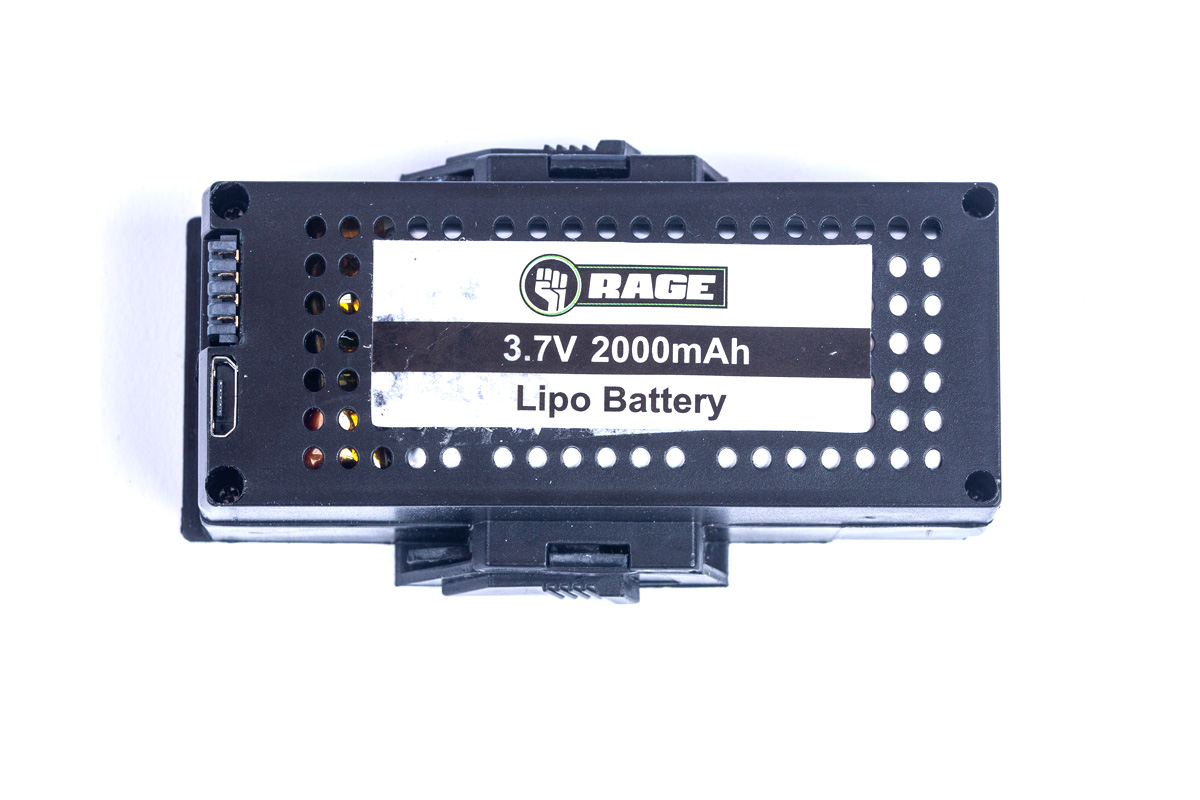 3.7V 1S 2000mAh Lipo Battery w/Case; Stinger 2.0