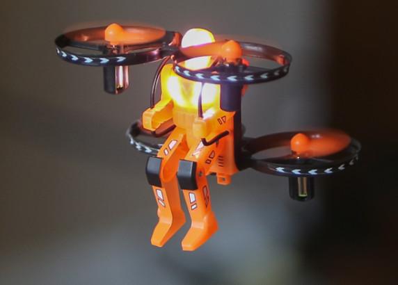 Jetpack Commander Night Ranger RTF Quad-Orange