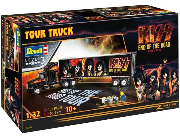 Revell KISS Tour Truck Rock Gift Set 1:32