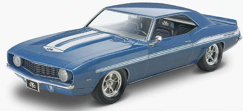 Plastic Model Kit-69 Chevy Camaro Yenko 1:25