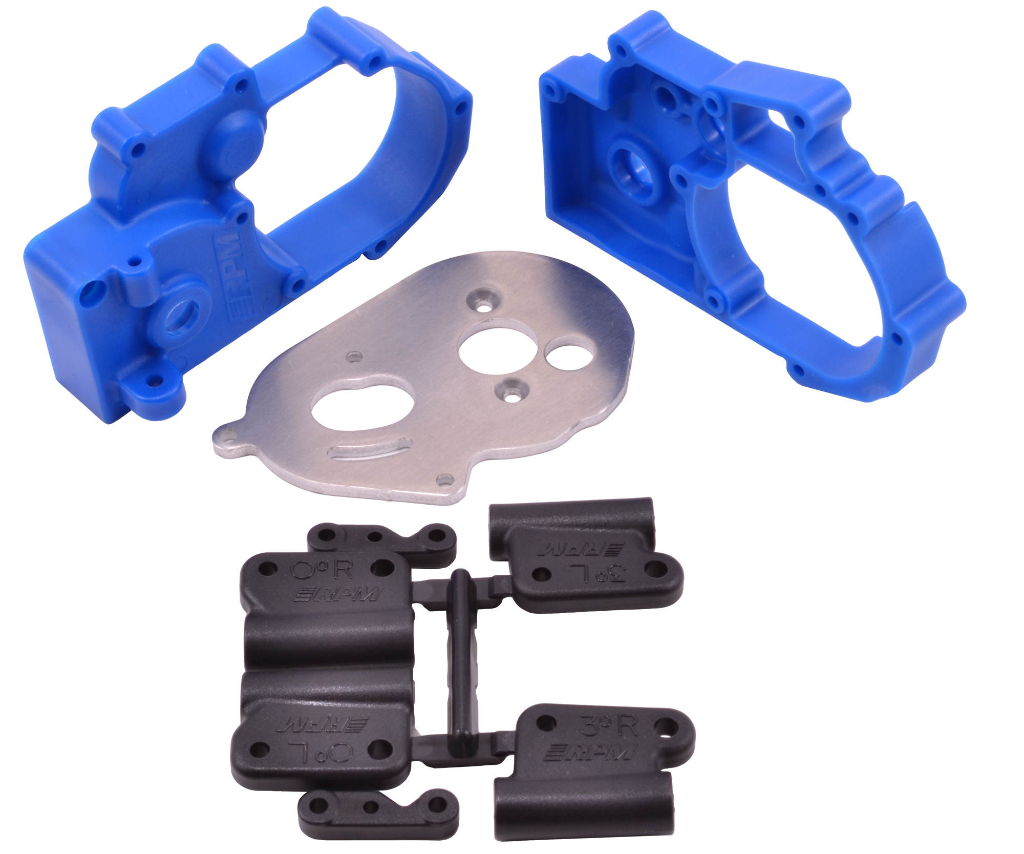 Gearbox Housing and Rear Mounts for the Traxxas Slash 2wd, e-Rustler, e-Stampede & Bandit