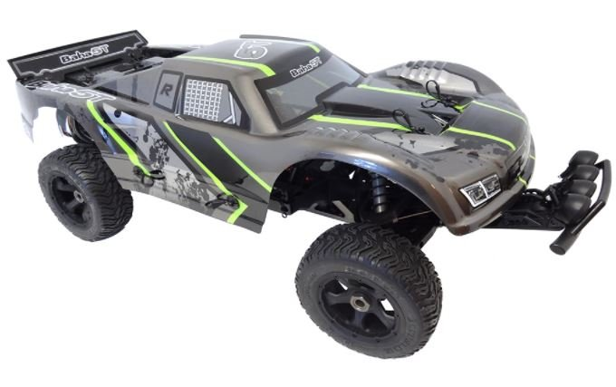 1/5 Scale 2021 36cc Gas Ready To Run Terminator Baja Truck 360T (gray/black/green)