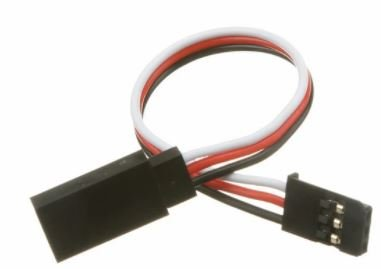 Futaba Compatible Servo Extensions Leads 100mm 22 awg