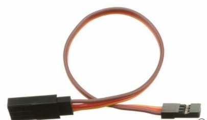 JR Compatible Servo Extension Leads 150mm 22 awg