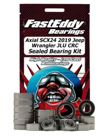 Axial SCX24 2019 Wrangler JLU CRC Sealed Bearing Kit