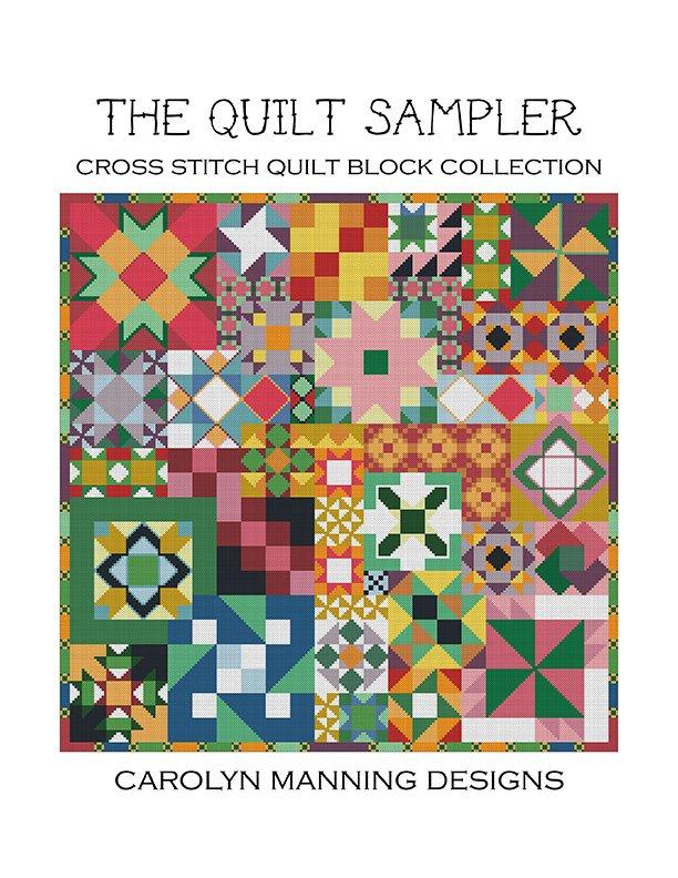 Quilt Sampler Cross Stitch Chart
