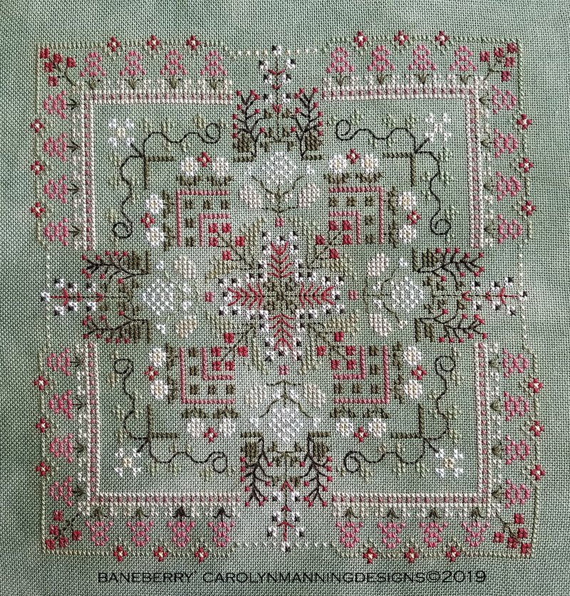 Baneberry Cross Stitch Chart