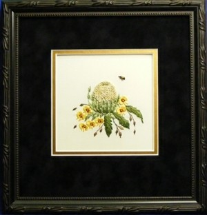 Banksia & Pea Flower