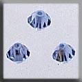 13032 Rondele Light Sapphire Aurora Borealis Crystal Treasures