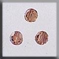 13018 Round Light Colorado Topaz Aurora Borealis (AB) Crystal Treasure
