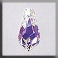 13057 Small Teardrop Crystal Aurora Borealis (AB) Crystal Treasure
