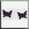 Mh Glass Treasure - 12124 Tiny Amthst Btrfly -2 Pk