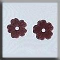 Mh Glass Treasure - 12151 V Pt Flower Matte Rosaln