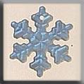 Mh Glass Treasure - 12161 Sm Snowflake Matte Crstl