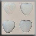 Glass Treasure - 12090 Opal Channeled Heart