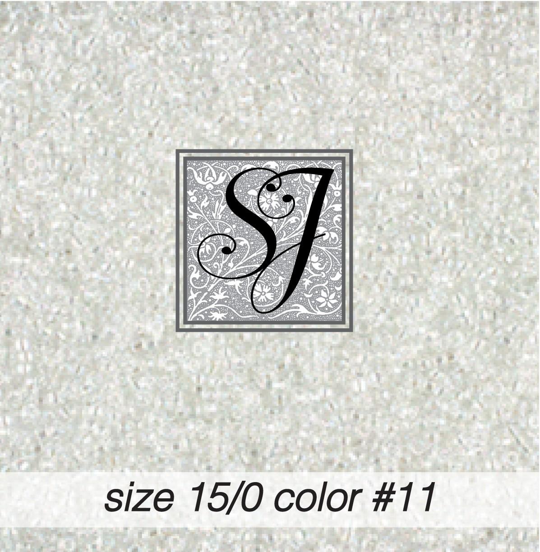 11 Crystal A/B 15/0 Seed Bead